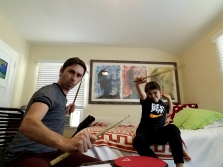 Music Ninjas in action