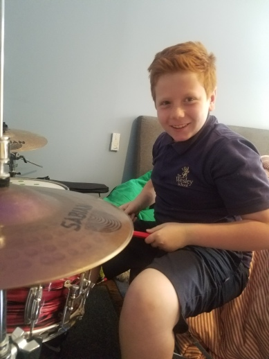 Fun on the Drums!